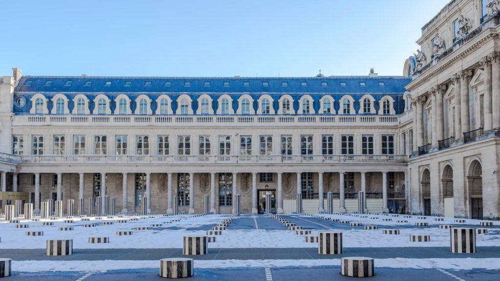 Jardins du Palais-Royal, colonnes de Buren
