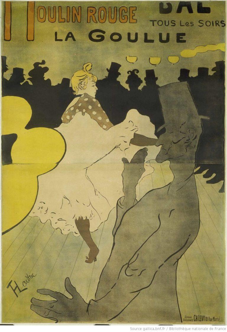 La Goulue - affiche de Toulouse-Lautrec