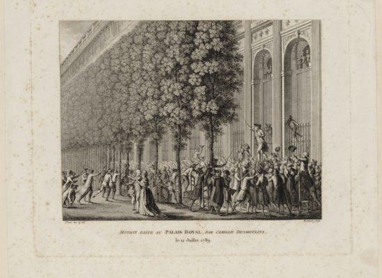 Vue sur Jardins du Palais-Royal.